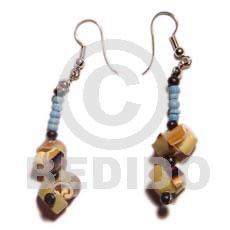 Dangling everlasting luhuanus 2-3mm Shell Earrings