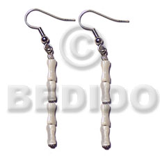 hand made Dangling troca bone Shell Earrings