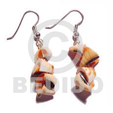 Dangling everlasting luhuanus Shell Earrings