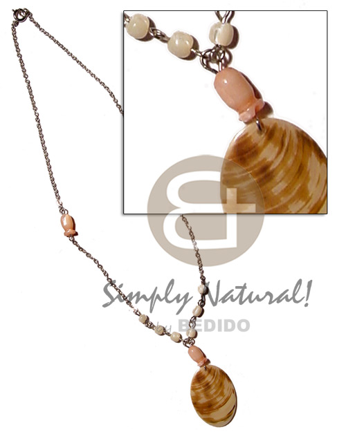 40mm melo shell pendant Shell Necklace
