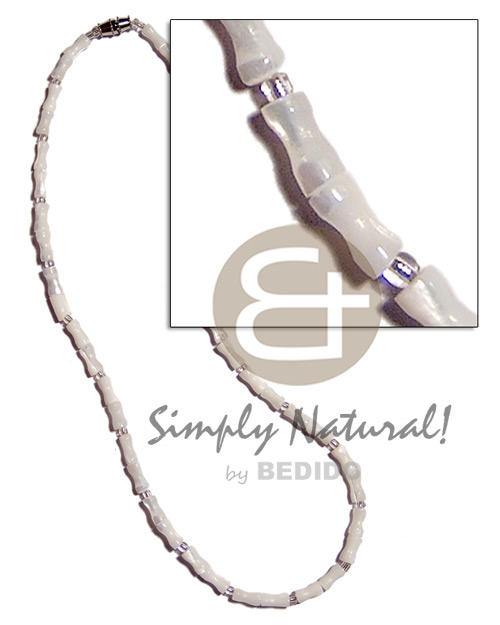 hand made Troca bone Shell Necklace