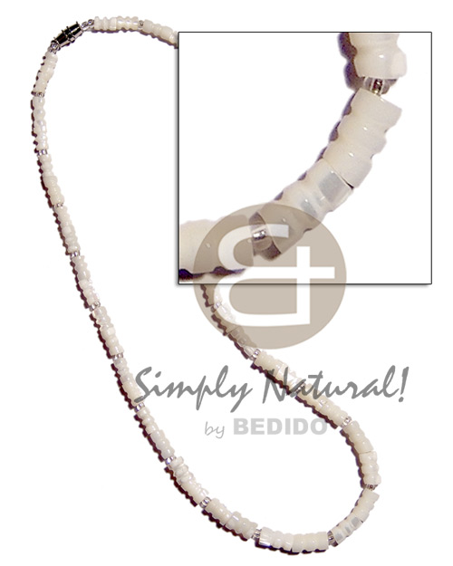 Troca bamboo Shell Necklace