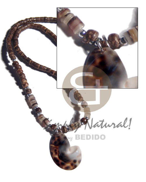 4-5mm coco heishe 4-5mm Shell Necklace