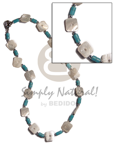 Floating kabibe shells 2-3mm Shell Necklace
