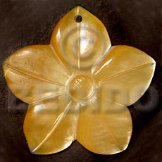 hand made Flower mop 40mm Shell Pendant