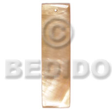 40mmx12mm MOP bar - Shell Pendant
