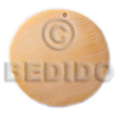 40mm round melo Shell Pendants