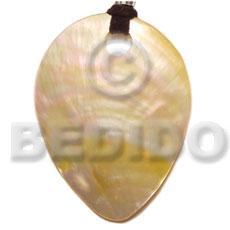 Shell pendants wholesale bulk wooden inverted mop teardrop big wood inverted mop teardrop big hole 55mmx40mm shell pendants aloadofball Image collections