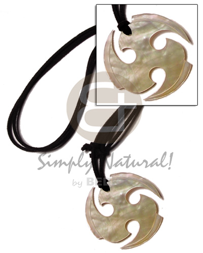45mm round ninja mop in Surfer Necklace