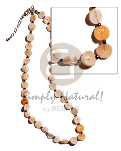 Floating melo heishe Teens Necklace