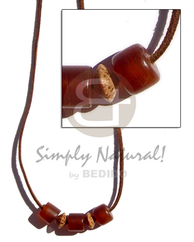 hand made Leather thong 3 pcs. Teens Necklace