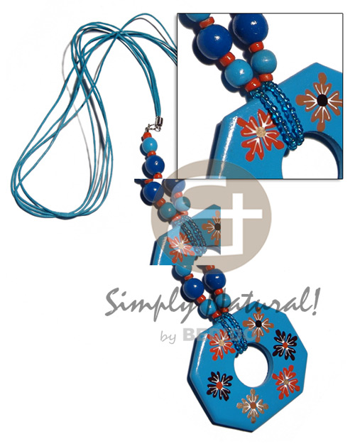 4 layers wax cord Teens Necklace