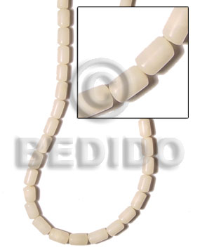 Buri tube natural out skin Tube Seeds Beads