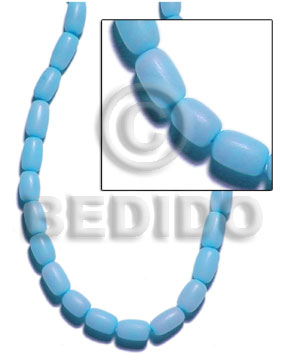 Buri tube out skin - Tube Seeds Beads