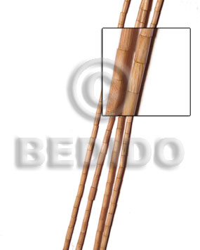 Rosewood heishe 2x5mm Tube & Heishe Wood Beads