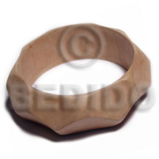 Wholesale Raw Natural Wooden Blank Bangle Casing Only Ht= 25Mm / 70Mm Inner Diameter / 12Mm Thickness - Unfinished Plain Wooden Bangles