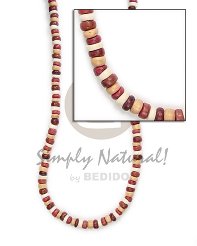 4-5mm pokalet brown tones Unisex Necklace