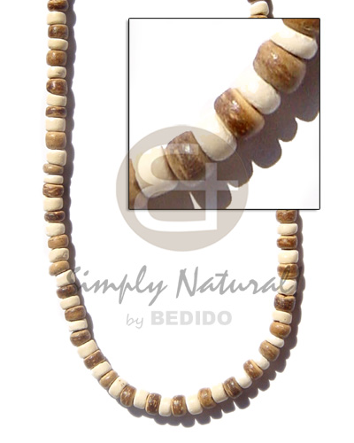 4-5mm coco pukalet tiger Unisex Necklace