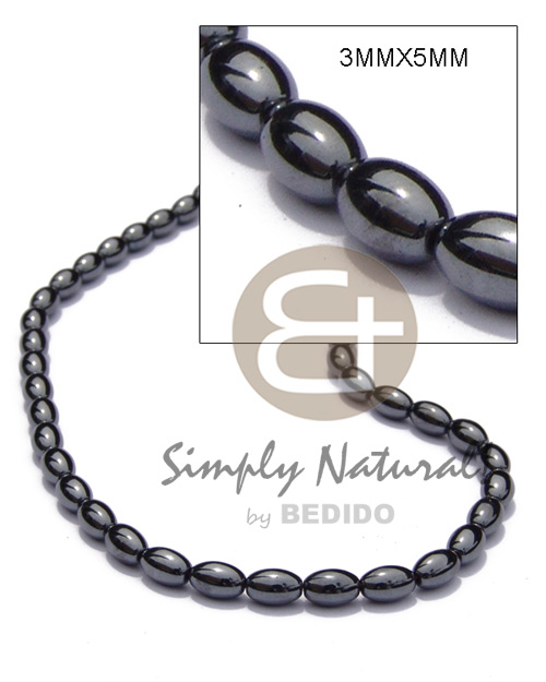 Hematite silvery shiny Unisex Necklace