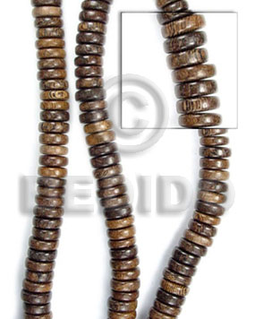 hand made Robles pokalet 5x10mm Wood Beads