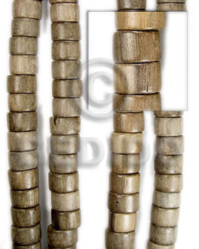 greywood wheels 10x15 - Wood Beads