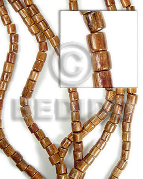 bayong barrel wood 6x6 - Wood Beads