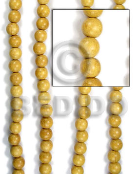 nangka beads 10mm - Wood Beads
