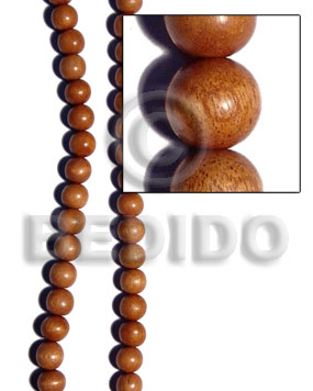bayong round wood beads 18mm - Wood Beads