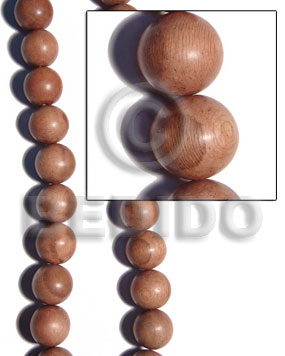 25mm rosewood round beads Wood Beads
