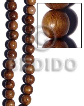 Robles round wood beads 20mm Wood Beads
