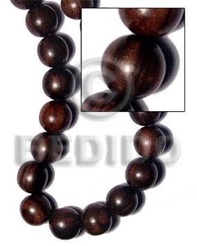 hand made Tiger camagong round wood beads Wood Beads