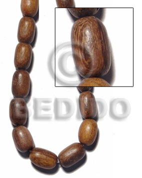 "Oval"" robles"" 10x15mm 29 Wood Beads"