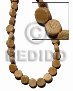 """robles"" pokalet 4x10mm 75pcs. Wood Beads"