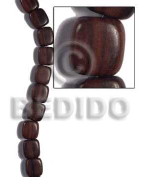 18mmx19mmx10mm camagong tiger ebony hardwood Wood Beads