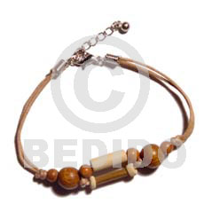 Bamboo Wood Beads Combination