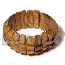 Robles wood groove bangle Wooden Bangles