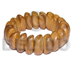 Bayong elastic wood bangle Wooden Bangles