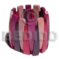 Elastic natural wood bangle Wooden Bangles