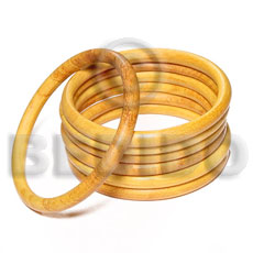 Nangka wood bangle 6mm Wooden Bangles