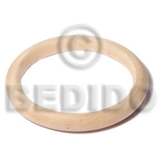 Natural white wood bangle Wooden Bangles