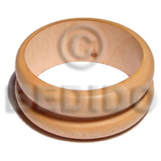 Ambabawod double round wood Wooden Bangles