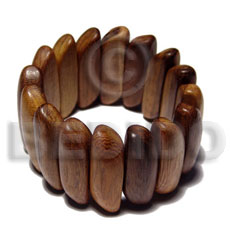Elastic robles wood bangle Wooden Bangles