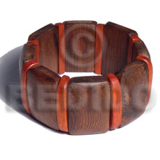 30mmx20mm robles wood elastic bangle Wooden Bangles