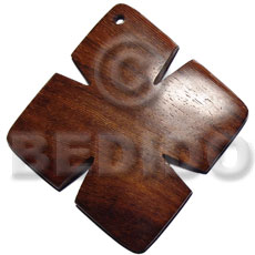 45mm cross in bayong wood